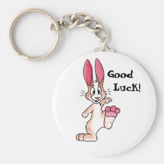 Llavero afortunado del conejo