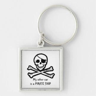 Llavero alegre del pirata de Rogelio