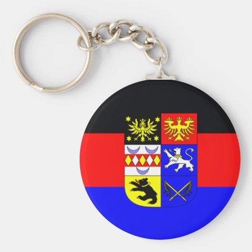 Llavero alemán de la bandera - Frisia del este Ost