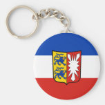 Llavero alemán de la bandera - Schleswig-Holstein