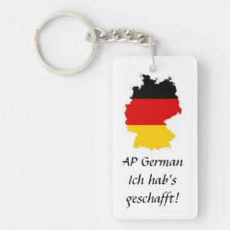 Llavero alemán del éxito del AP