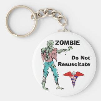 Llavero alerta del zombi