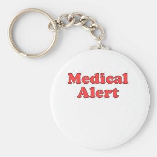 Llavero alerta médico