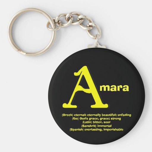 Llavero Amara