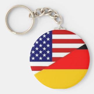 Llavero americano alemán de la amistad