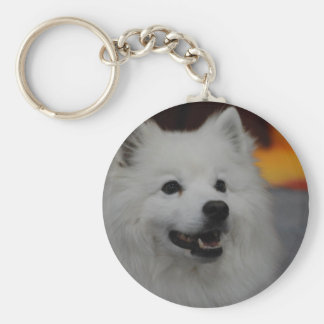 Llavero americano del perro esquimal
