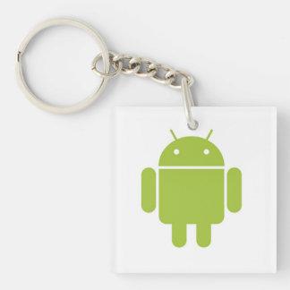 Llavero androide del LOGOTIPO