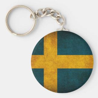 Llavero apenado bandera de Suecia