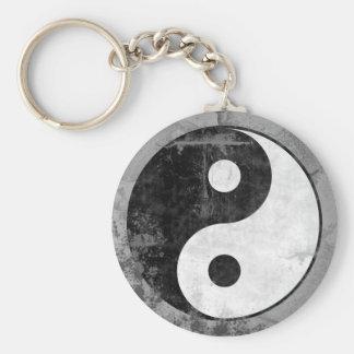 Llavero apenado del símbolo de Yin Yang