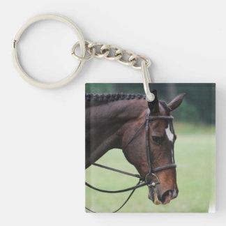 Llavero árabe dulce del acrílico del caballo