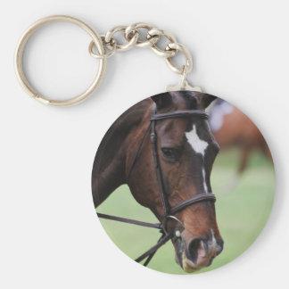 Llavero árabe lindo del caballo