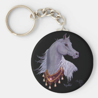 Llavero árabe majestuoso del caballo