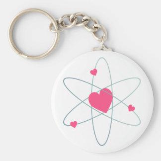 Llavero atómico del corazón