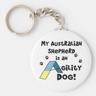Llavero australiano del perro de la agilidad del p
