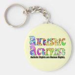 Llavero autístico del activista (color)