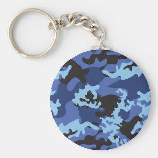 Llavero azul de encargo de Camo