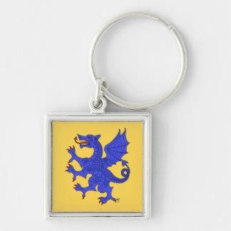 Llavero (azul) desenfrenado del dragón