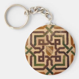 Llavero azulejo Alhambra - Granada