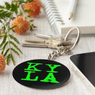 Llavero básico del botón de KYLA 5,7 cm