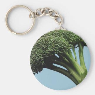 Llavero básico del botón del bróculi