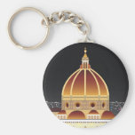 Llavero básico del botón del Duomo