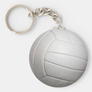 Llavero básico del botón del voleibol