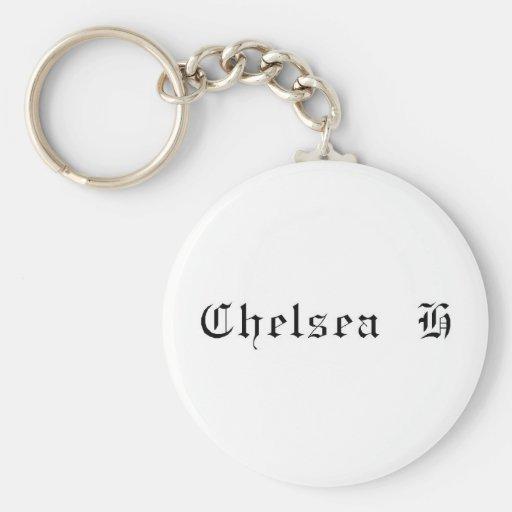 Llavero blanco de Chelsea H