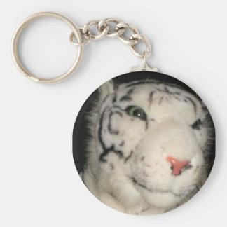 Llavero blanco del tigre 1