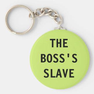 Llavero Boss; esclavo de s