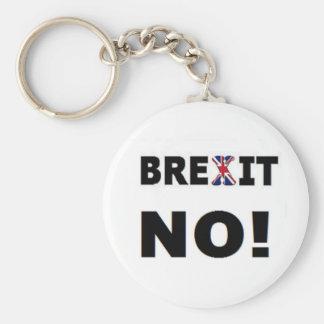 Llavero Brexit ningún