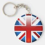 Llavero británico de la bandera de Union Jack