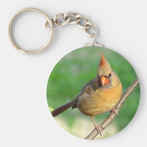 Llavero cardinal femenino