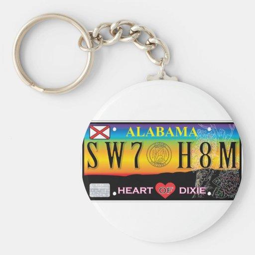 Llavero casero dulce de Alabama