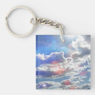 Llavero celestial de las nubes