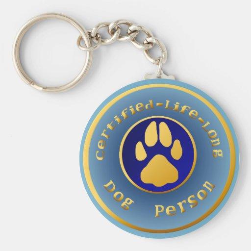 Llavero Certificar-Vida-Largo de DogPerson