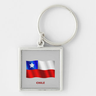 Llavero chileno de la bandera