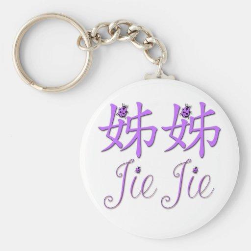 Llavero chino de Jie Jie (hermana grande)