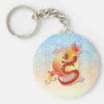 Llavero chino del dragón