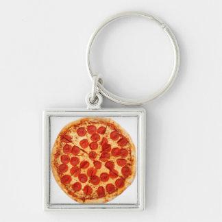 llavero clásico de la pizza
