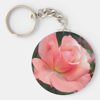 Llavero color de rosa rosado
