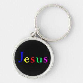 Llavero colorido de Jesús