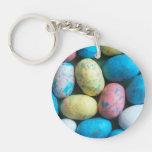 Llavero colorido de los huevos de Pascua del caram