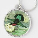 Llavero colorido del llavero del colibrí de Gould