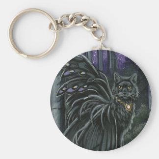 Llavero con alas Nightshade del gato