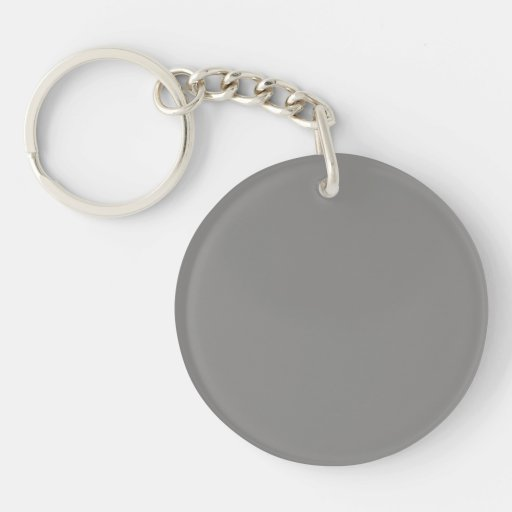 Llavero con el fondo gris en colores pastel