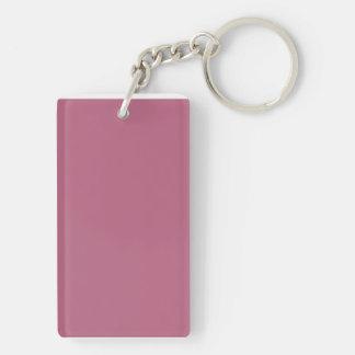 Llavero con el fondo rosado de color de malva