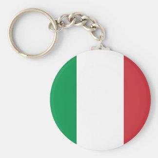 Llavero con la bandera de Italia
