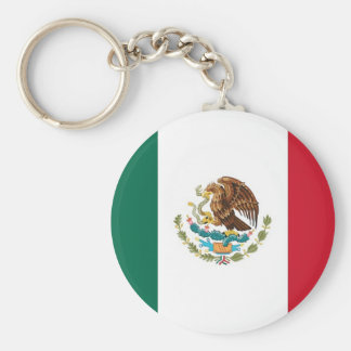 Llavero con la bandera de México