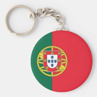Llavero con la bandera de Portugal