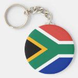 Llavero con la bandera de Suráfrica